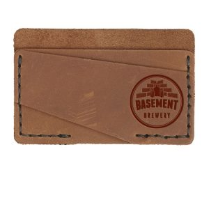 Double Horizontal Card Wallet: Basement Brewery