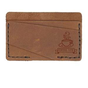 Double Horizontal Card Wallet: Coffee Time