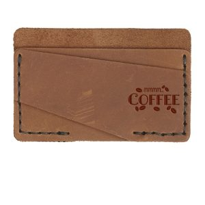 Double Horizontal Card Wallet: Mmm...Coffee