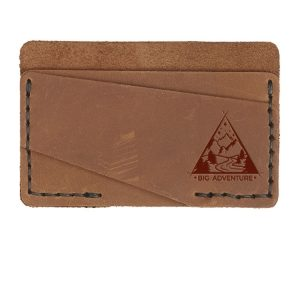 Double Horizontal Card Wallet: Big Adventure