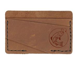 Double Horizontal Card Wallet: Fish Hook