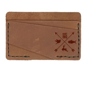 Double Horizontal Card Wallet: Hunting Cross
