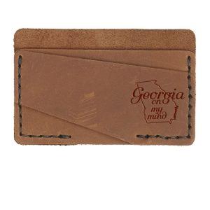 Double Horizontal Card Wallet: GA on my Mind