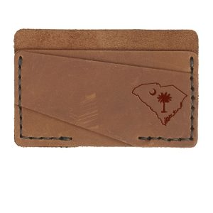 Double Horizontal Card Wallet: SC Palmetto
