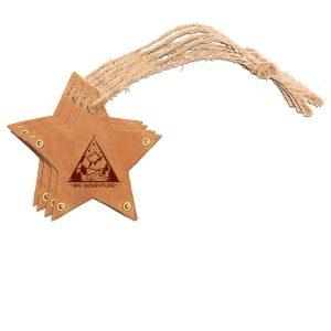 Star Ornament (Set of 4): Big Adventure
