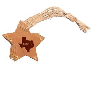 Star Ornament (Set of 4): TX Home