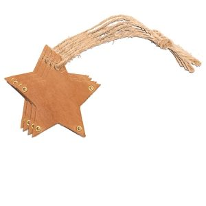 Star Ornament (Set of 4): Custom