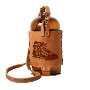 32oz Growlette Tote with Strap: Hike More, Worry Less