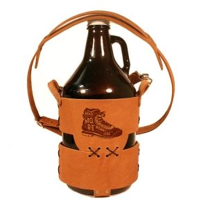 64oz Growler Tote with Strap: Hike More, Worry Less
