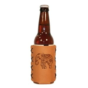 Bottle Holder: Elephant Mandala