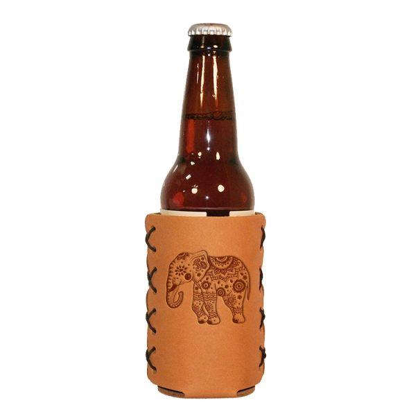 Bottle Holder: Elephant Mandala