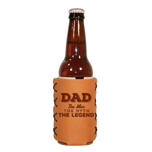 Bottle Holder: Dad - Man, Myth, Legend