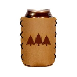 Can Holder: Pine Trees