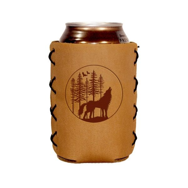 Can Holder: Howling Wolf