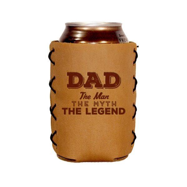 Can Holder: Dad - Man, Myth, Legend