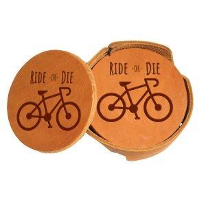 Round Coaster Set: Ride or Die