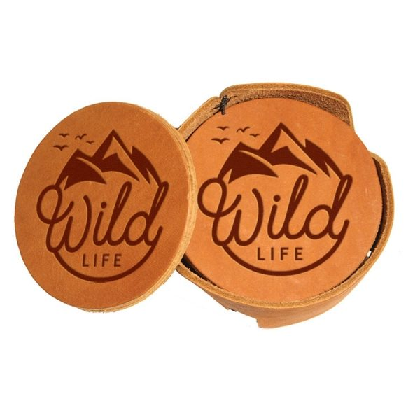 Round Coaster Set: Wild Life