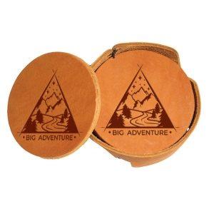 Round Coaster Set: Big Adventure
