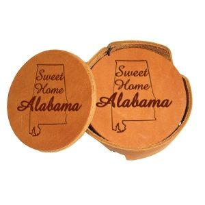 Round Coaster Set: Sweet Home AL