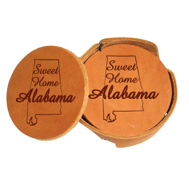 Round Coaster Set: Sweet Home AL