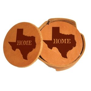Round Coaster Set: TX Home