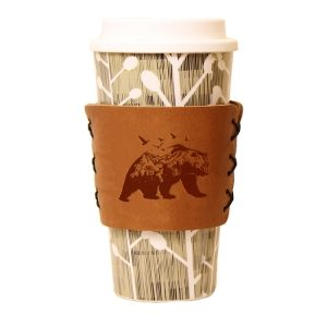 Coffee / Multi Sleeve: Mountain Bear