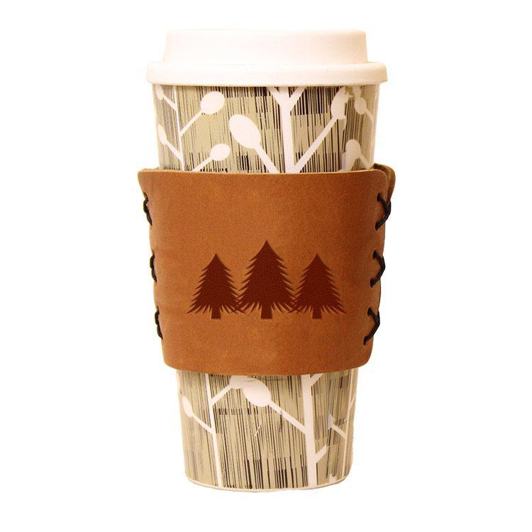 Coffee / Multi Sleeve: Pine Trees