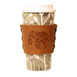 Coffee / Multi Sleeve: Elephant Mandala