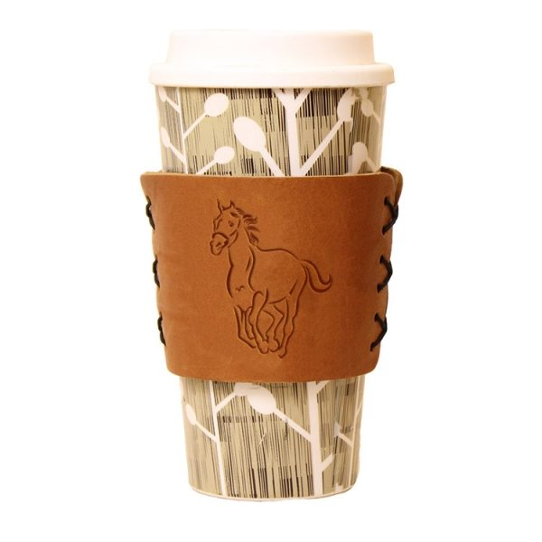 Coffee / Multi Sleeve: Horse