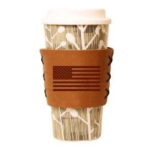 Coffee / Multi Sleeve: American Flag