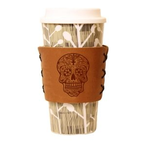 Coffee / Multi Sleeve: Candy Skull