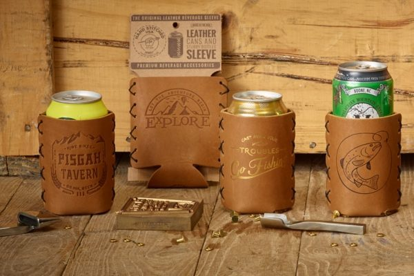 Leather Can Holder