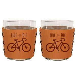 Highball Set of 2 with Glasses: Ride or Die