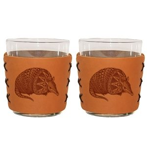 Highball Set of 2 with Glasses: Armadillo