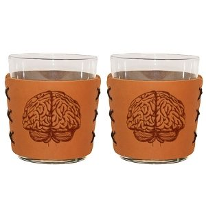Highball Set of 2 with Glasses: Brain