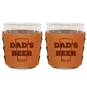 Highball Set of 2 with Glasses: Dad's Beer