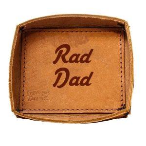Leather Desk Tray: Rad Dad