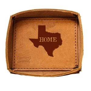 Leather Desk Tray: TX Home