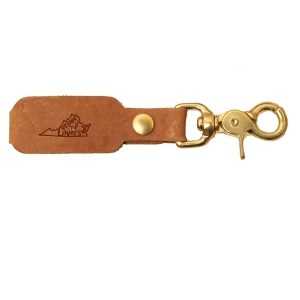LOGO Leather Key Chain: VA is for Lovers
