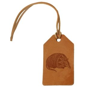 Simple Luggage Tag: Armadillo