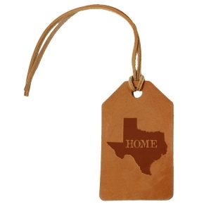 Simple Luggage Tag: TX Home
