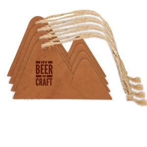 Mountain Ornament (Set of 4): My Beer is Craft