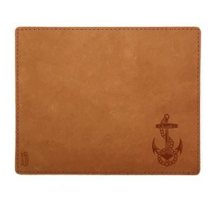 Mouse Pad with Decorative Stitch: Anchor