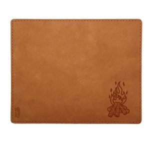 Mouse Pad with Decorative Stitch: Camp Fire
