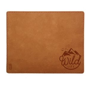 Mouse Pad with Decorative Stitch: Wild Life