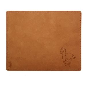 Mouse Pad with Decorative Stitch: Horse