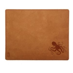 Mouse Pad with Decorative Stitch: Octopus