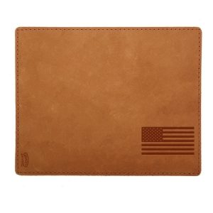 Mouse Pad with Decorative Stitch: American Flag