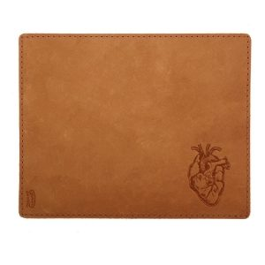 Mouse Pad with Decorative Stitch: Heart