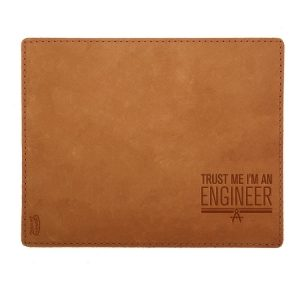 Mouse Pad with Decorative Stitch: Trust Me ... Engineer